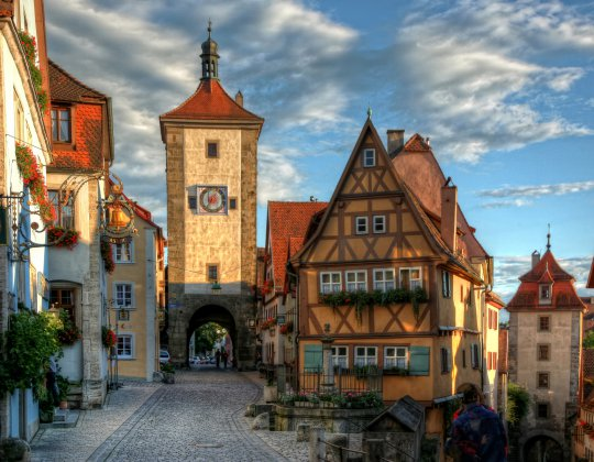 Bavarian Day Tours Rothenburg ob der Tauber Siebersturm
