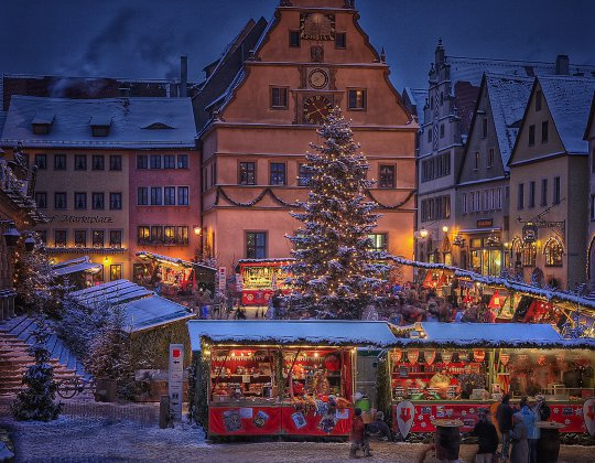 Bavarian Day Tours Rothenburg ob der Tauber Christmas market